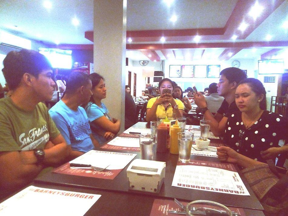 Typical Scene In Restaurant Ordinarypeople Waitingforthefood