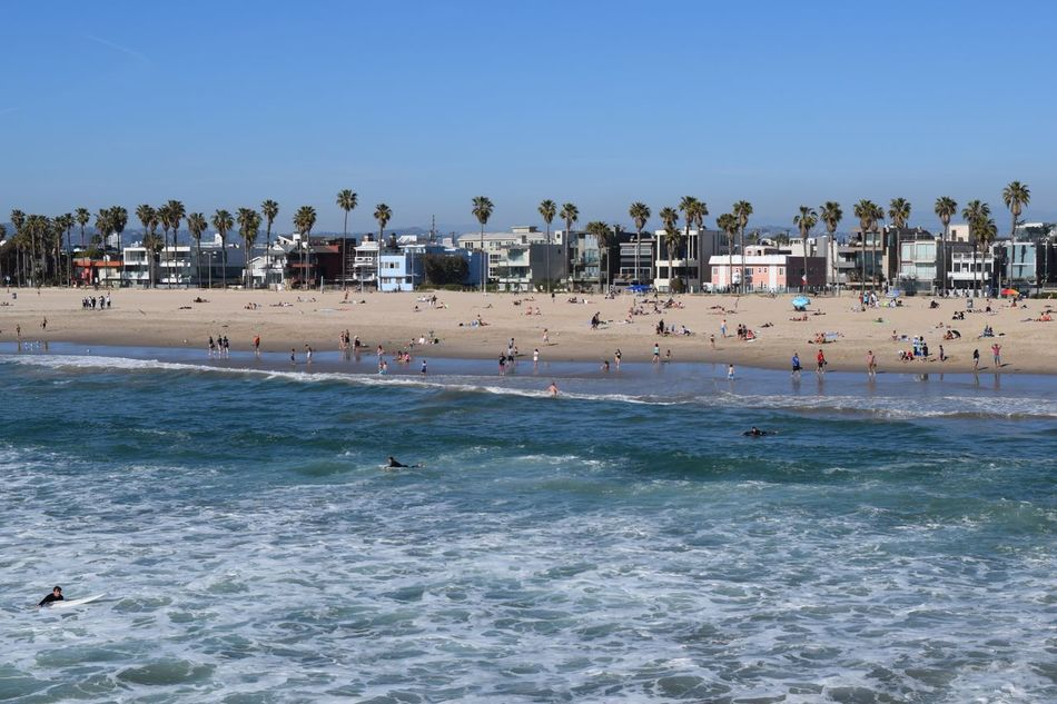 Beautiful stock photos of los angeles, Beach, Beauty In Nature, Blue, Clear Sky