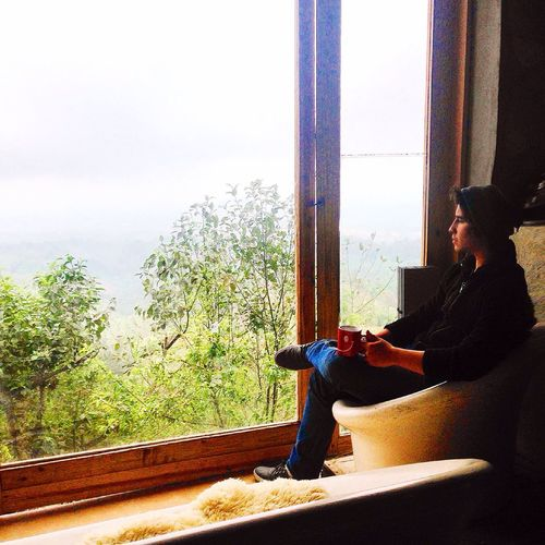 No streas... Be Relax Window Paradise Postal Landscape Scenic Relaxing Coffee Its Me