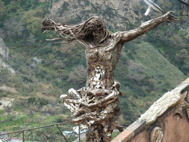 Savoca Italy EyeEm Italy Jesus Metal Traveling Photography Check This Out Dailyphoto Picoftheday