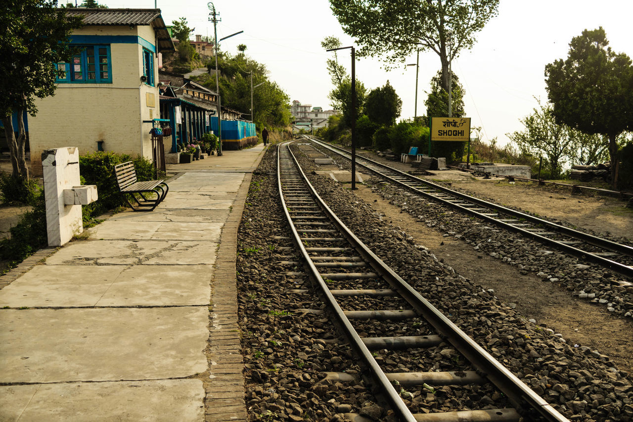 The train may fall in love with a station but it has to go and it goes. Don't be like train; stay at the station you fell in love, go nowhere !! helloworld Check This Out Taking Photos Serenity Outdoors Stillphotography EyeEm Best Shots Train Station Railwaystation Train Railroad Track Railroad Station Platform Railwaytracks Indianrailways Vintage Landscapes Worldheritage Showcase July Hidden Gems  Ontheway