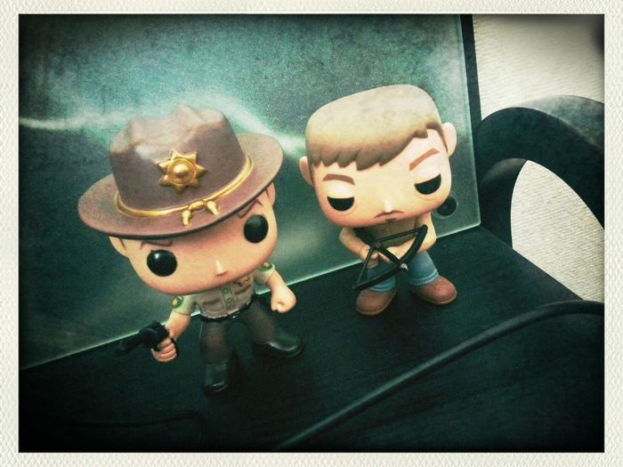 The walking dead toys.