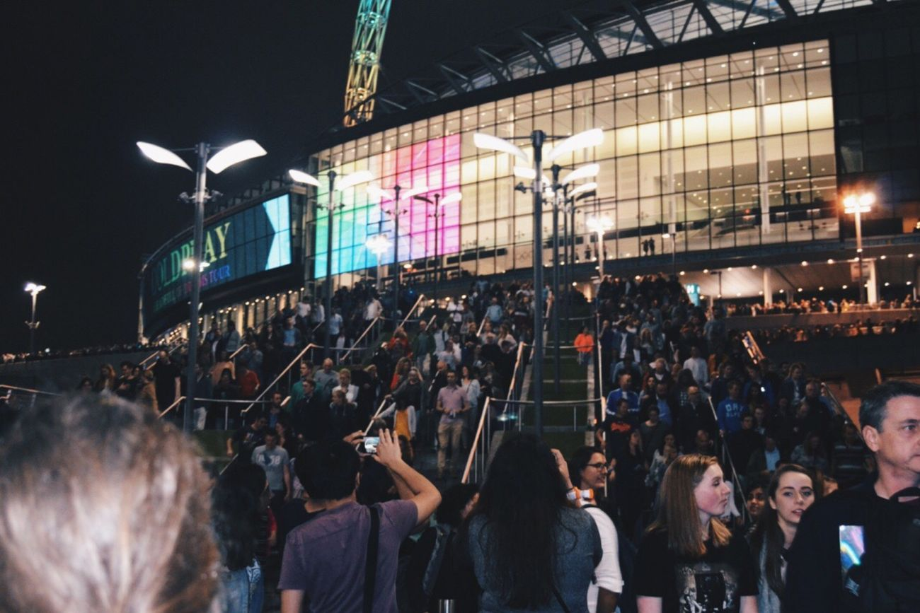 London Lifestyle Coldplay Concert