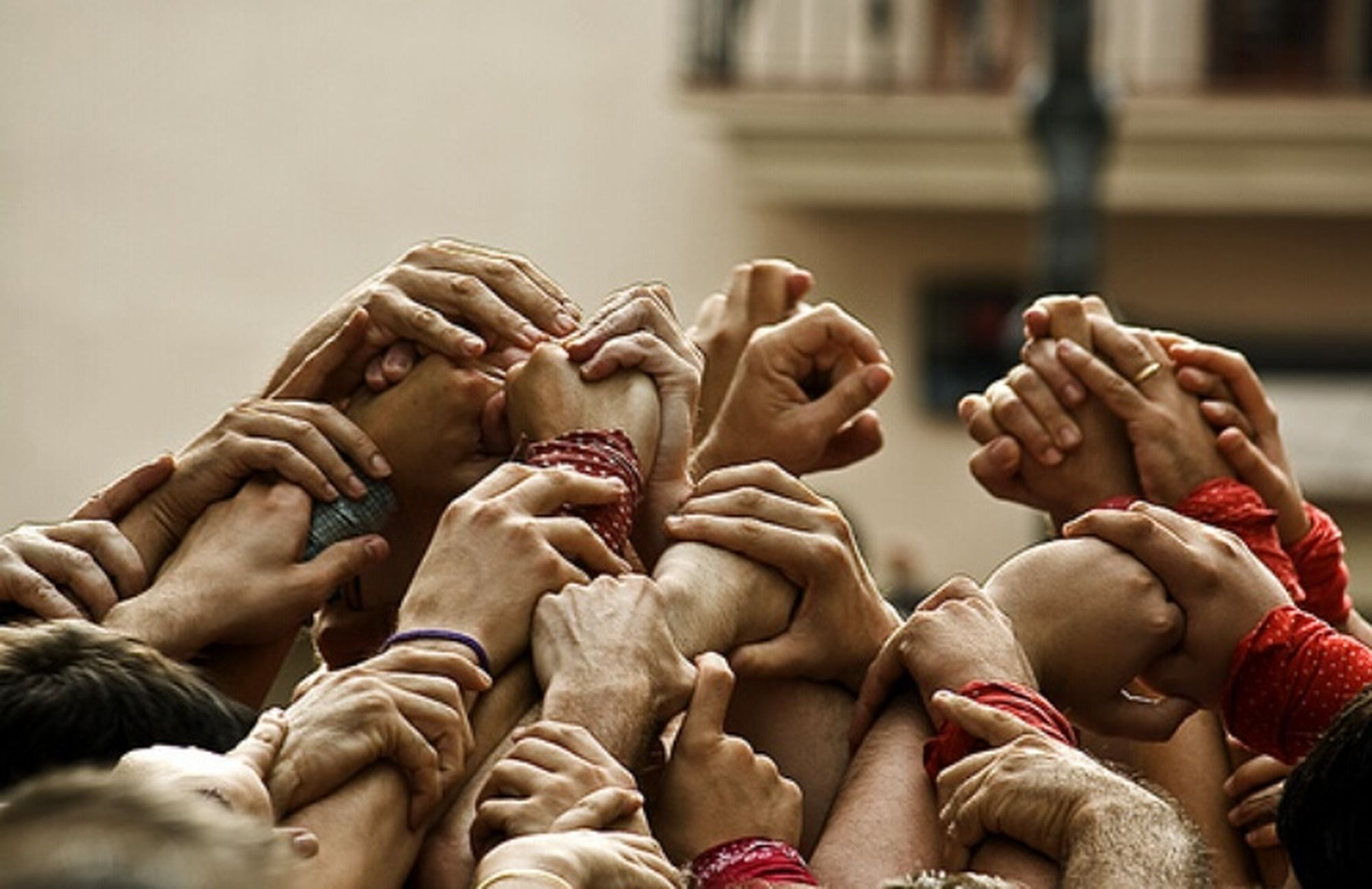 Collected Community Castells Pit I Collons Pinya