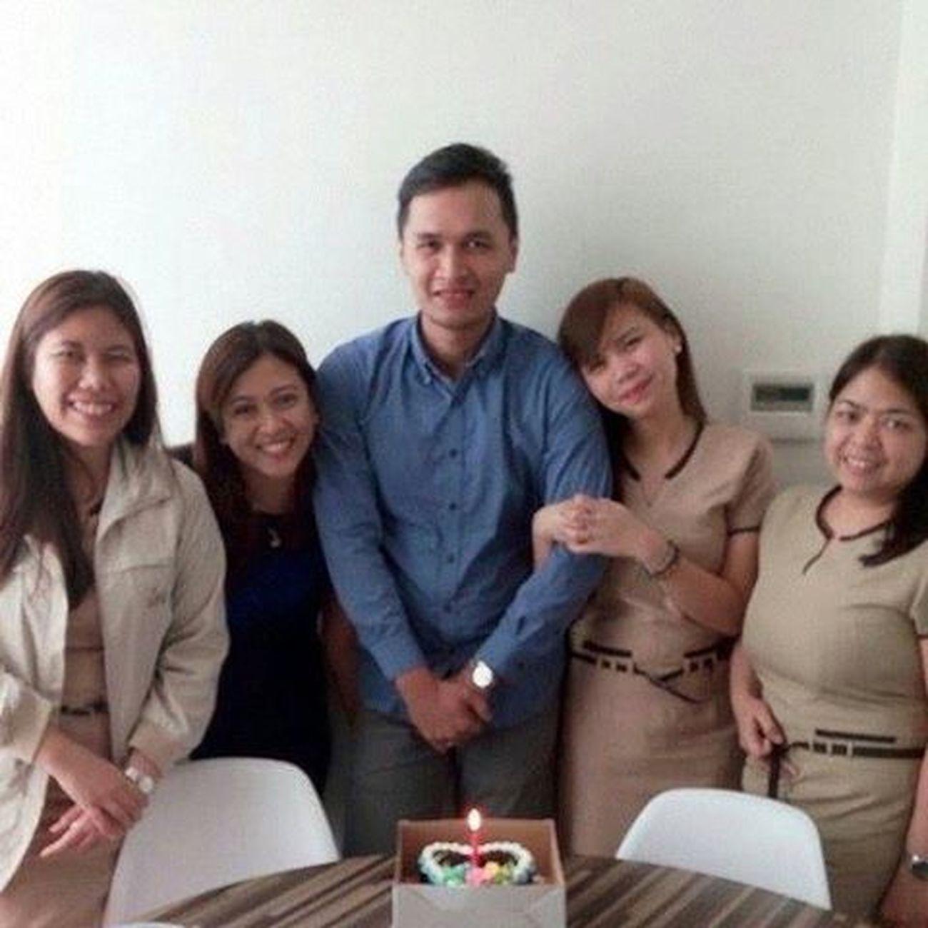 Happy birthday Brothaa! :)) baon ka ng almusal pa more. God Bless you and si Rona and your family. BeloFamily
