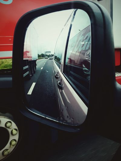 This Is Perspective day 9. On The Road Rear View Motorway Reflection