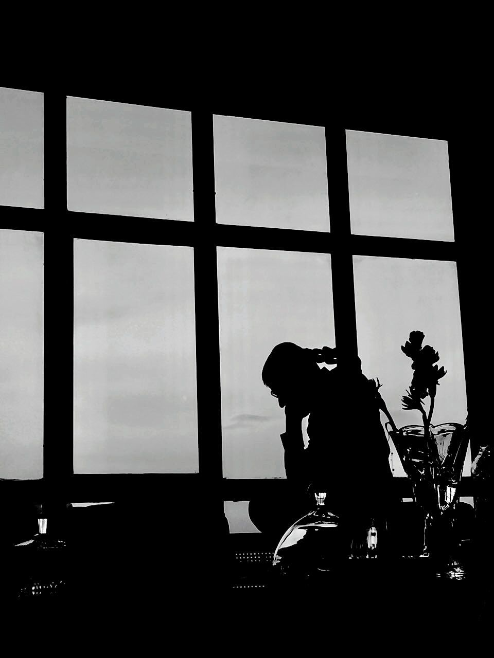 silhouette, real people, occupation, skill, indoors, window, arts culture and entertainment, sitting, men, one person, music, technology, performance, musician, sky, day, camera operator, people, adult