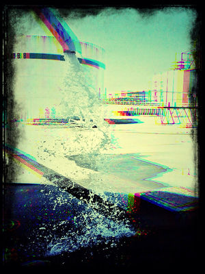 water in Playas de Rosarito by lobobobo