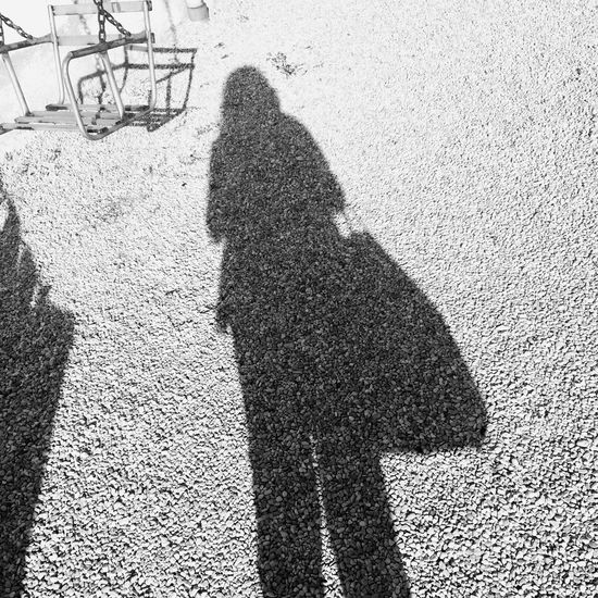 Altalena Bianco E Nero Shadow Nature Outdoors