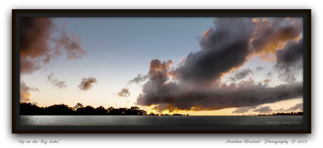 'Up on the Big Lake' Atmospheric Mood Cloud Cloud - Sky Cloudscape Dramatic Sky Lake View Lakes  Lakeside Lakeside Eve Lakeview Moody Sky Outdoors Scenics Sky Sunset