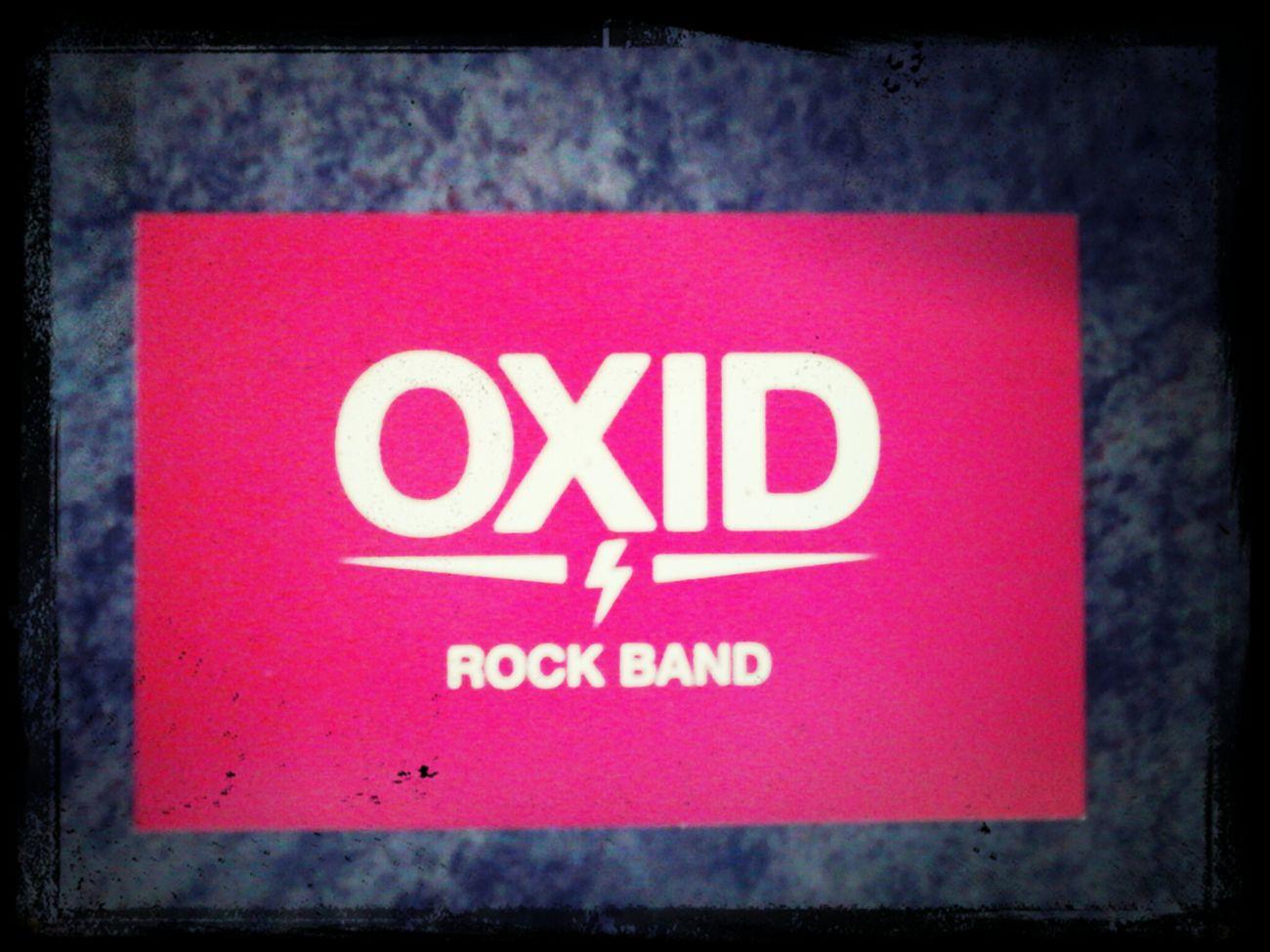 Oxid, Rock Band. Www.oxidrock.com