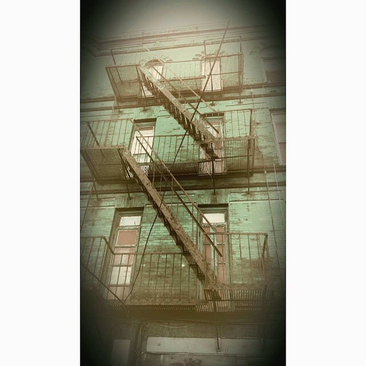 Stairways Fire Escape Old Buildings Building Exterior Urban Photography Taking Photos City Livin'  Streppen Stairs_collection Angles And Lines