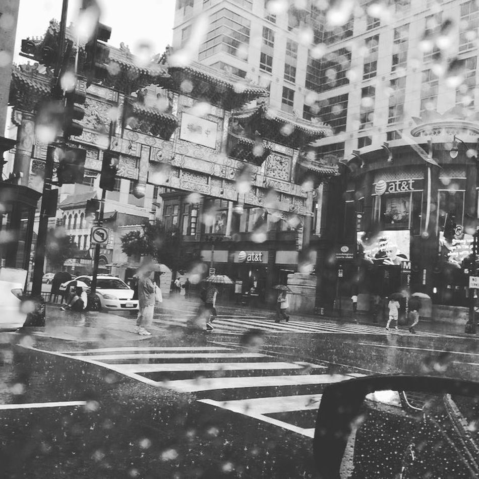Rainy Days Hanging Out Taking Photos Enjoying Life Photography Photooftheday Chinatown Raindrops Untold Stories B&w Street Photography