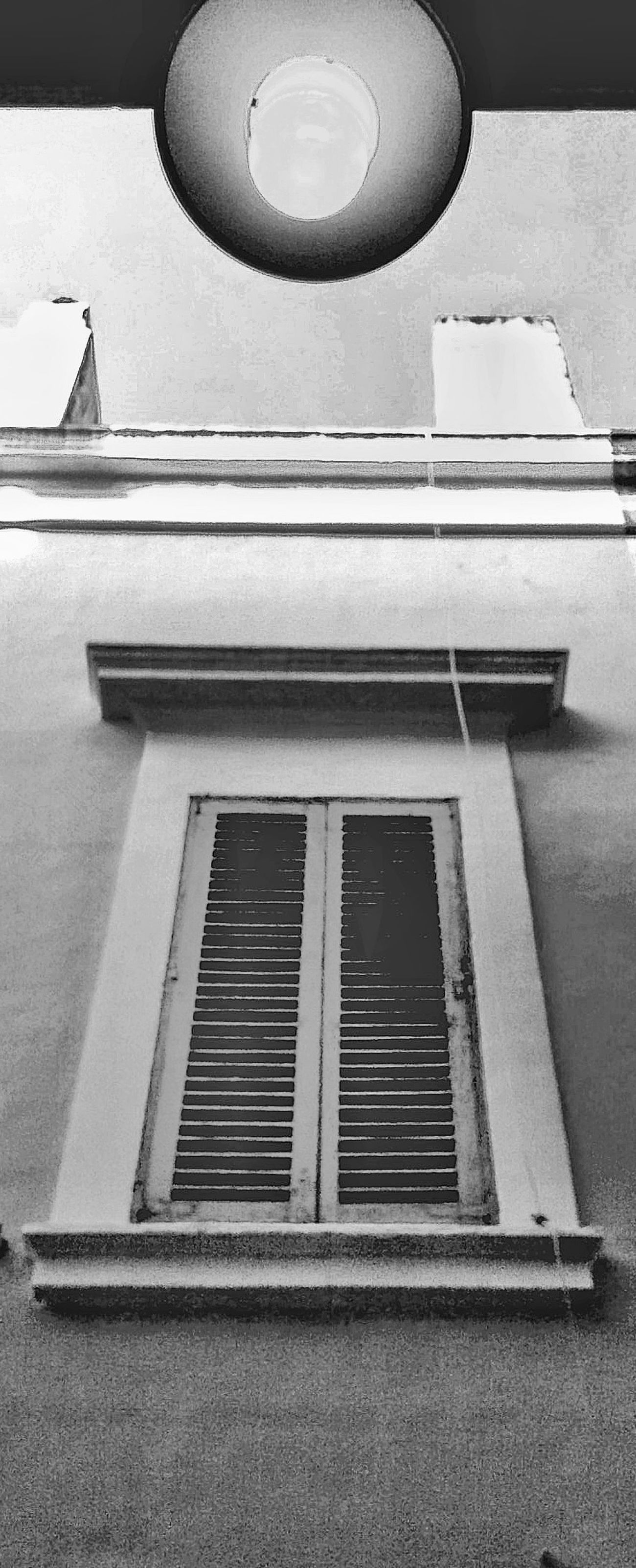 Something Like Symmetry Old Building Charms Old Window Walking By Home Town Low Angle Perspective Architecture Outdoors Strange Days picture becoming paint