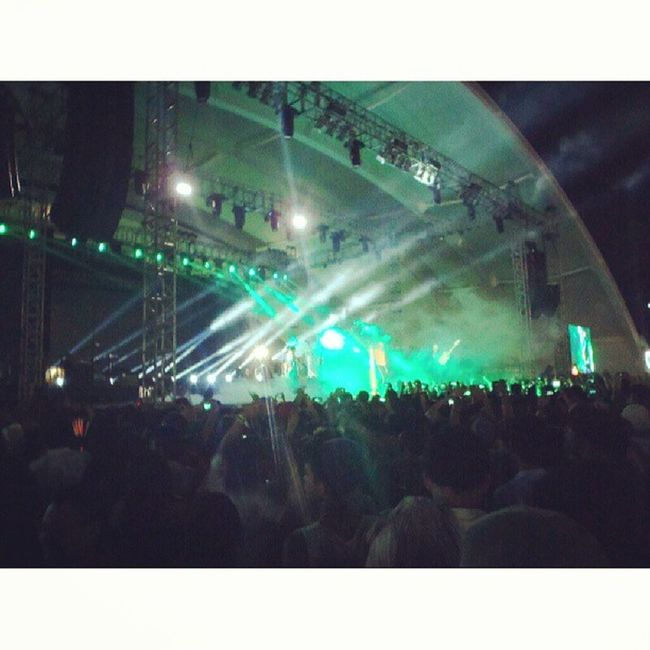 NeonTrees was awesome, it was like a big party at Wanderland2013 Wanderlandmusicfest