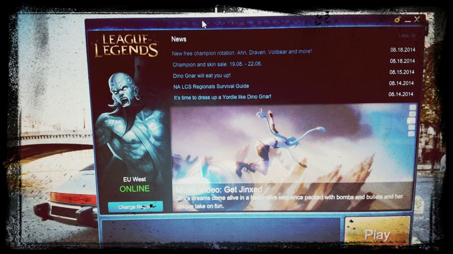 8th - A bit of Gameing LOL League Of Legends