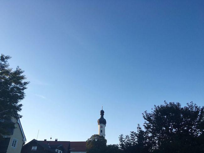 Church Bad Tölz Cityscape Bavarian Cityscapes Religion Clear Sky Copy Space Mühlfeldkirche