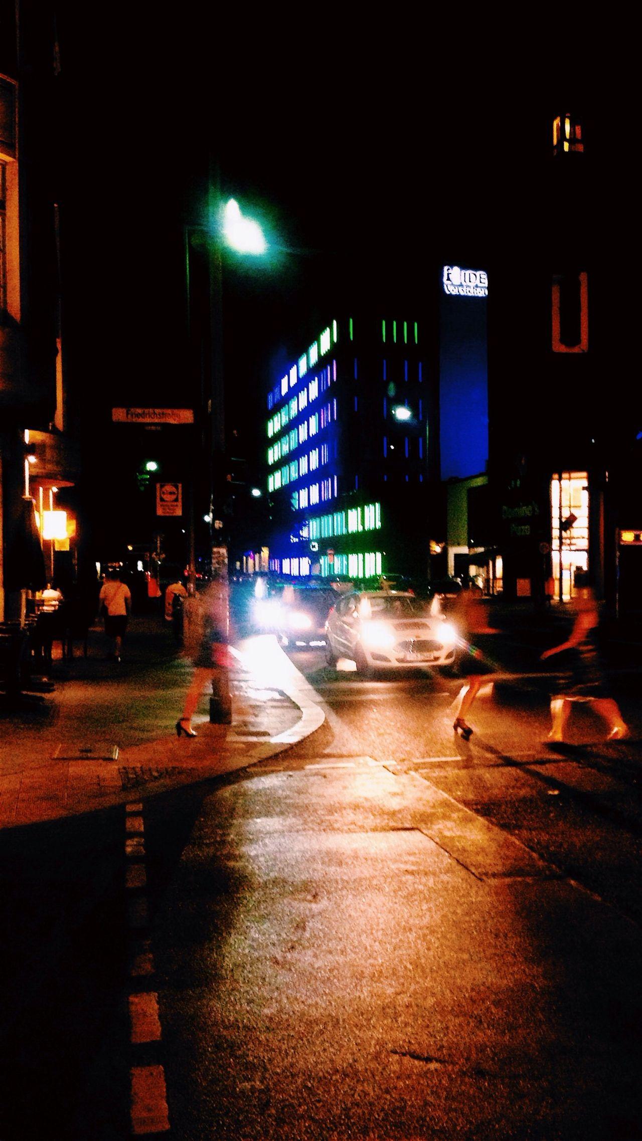 Night Lights I ❤ BERLIN Soistberlin  Street Photography