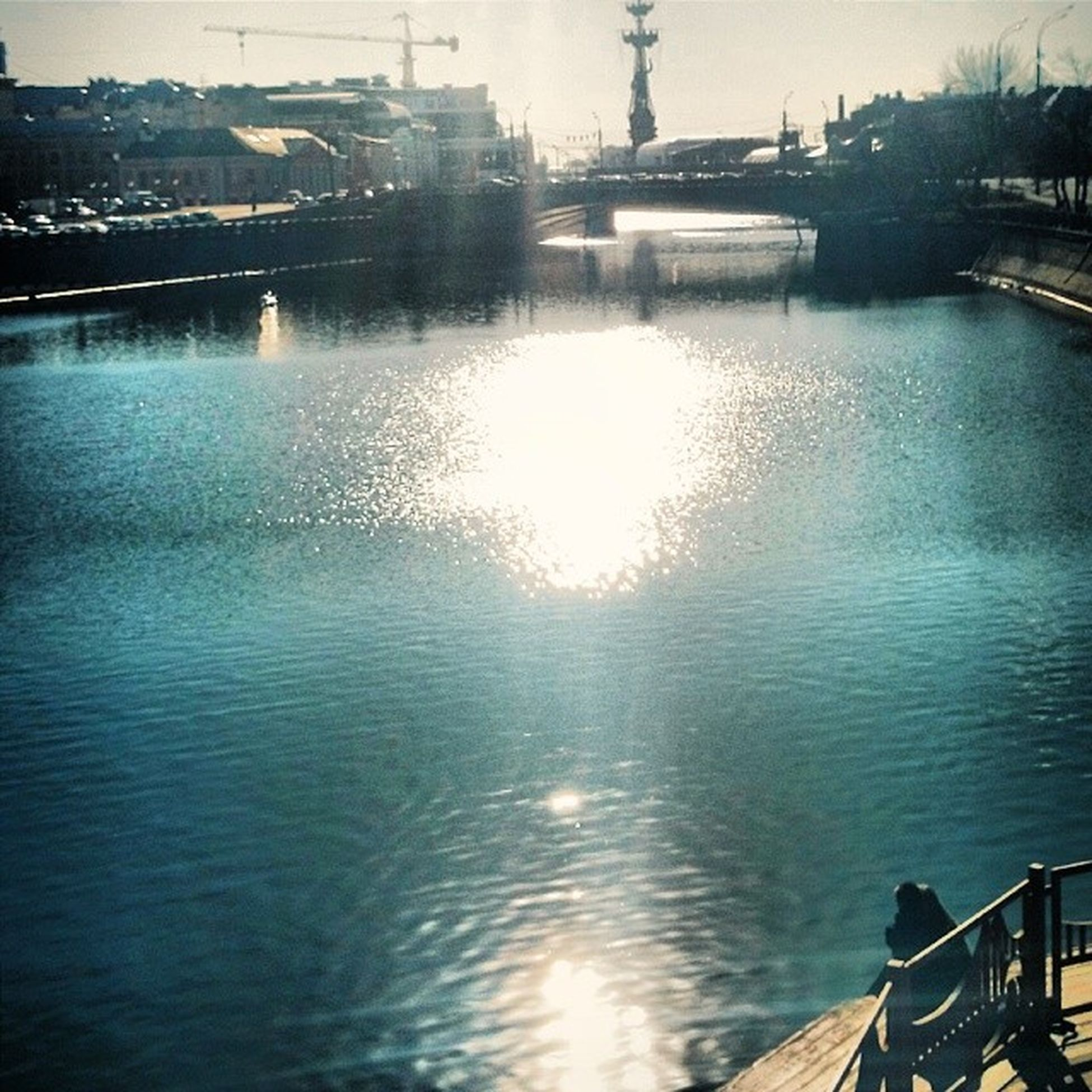 VSCO Vscocam Street Street_photo moscow sun sunny_day spring love two_lovers romantic river happiness