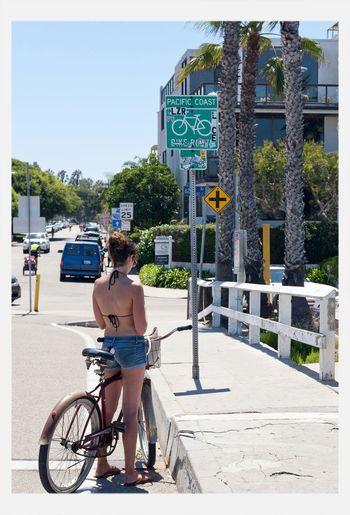 Bicycle Lane Enjoying The Sun Street Photography My Bicycle