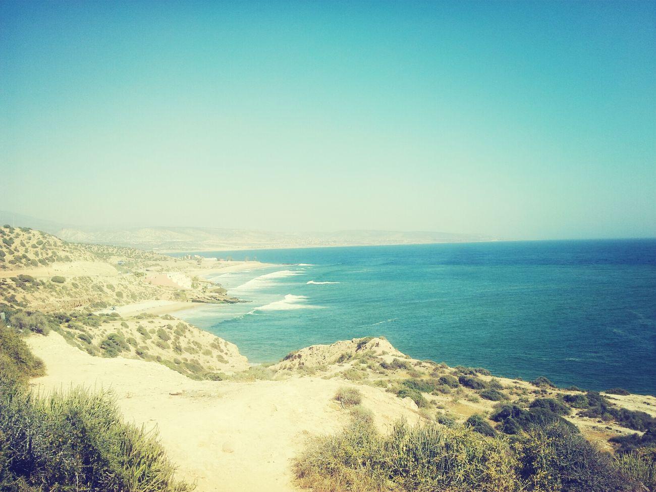 plage taghazout Agadir