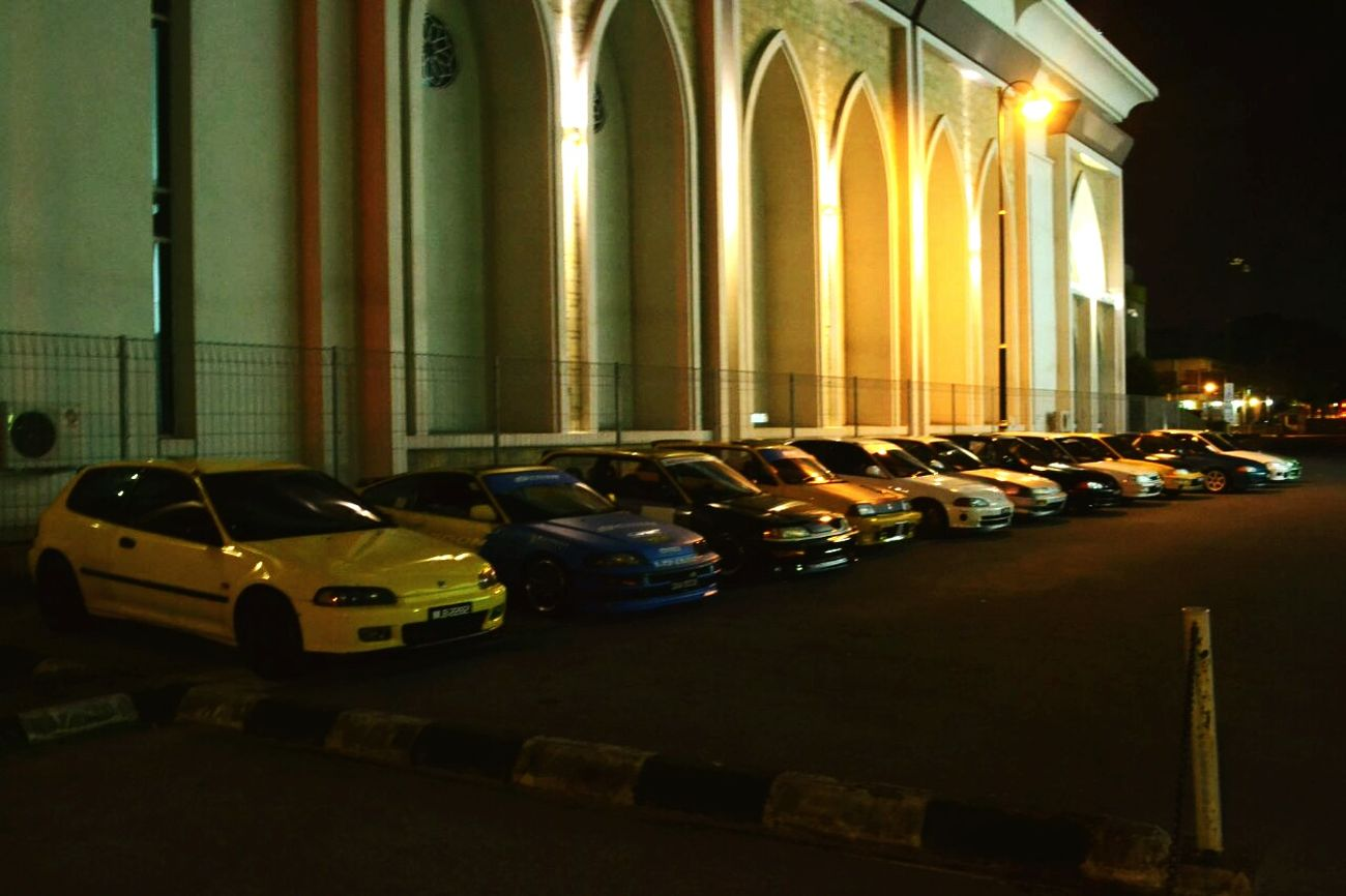 Honda brotherhood nitez out...
