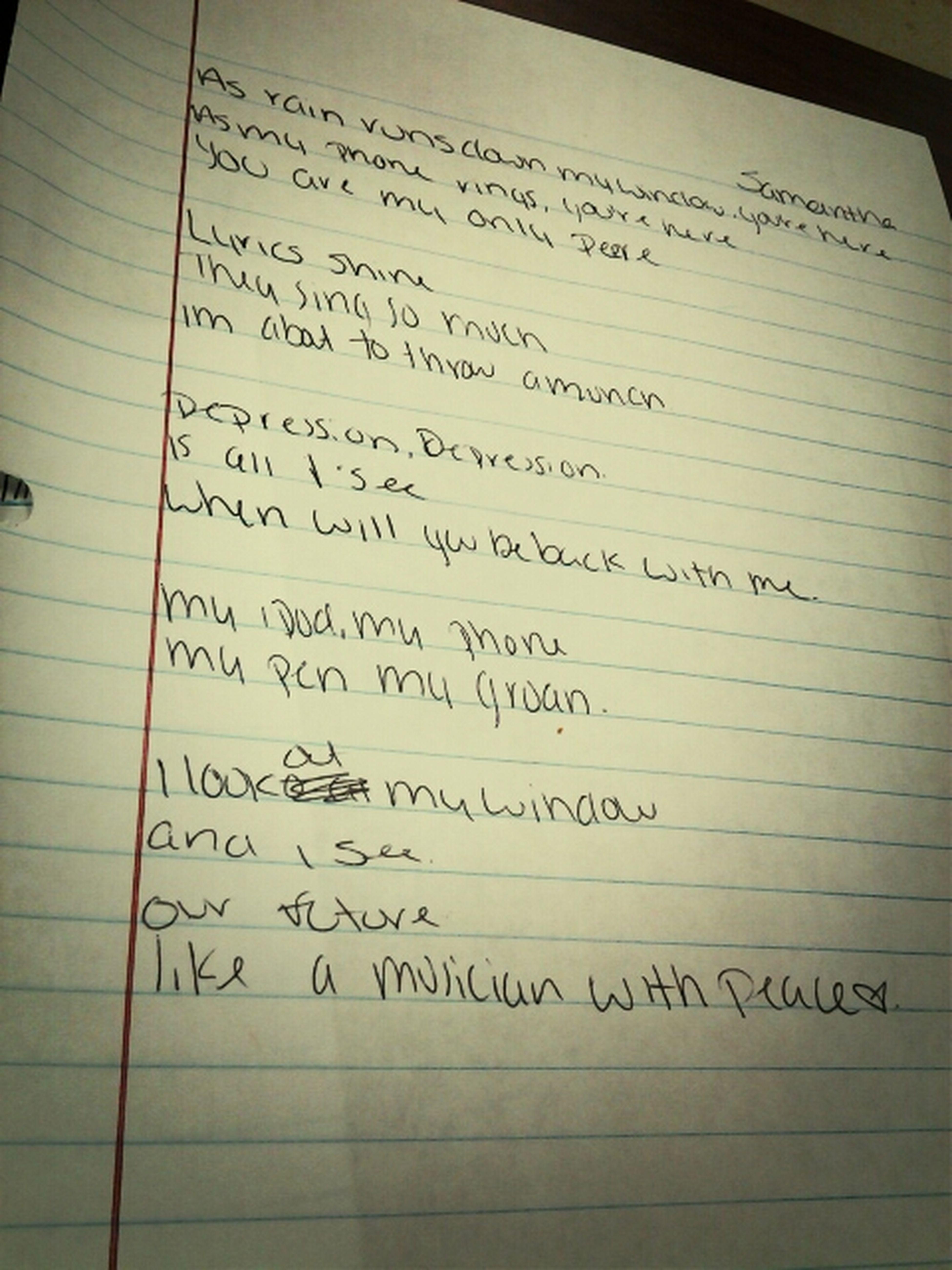 writing a draft poem . blah .