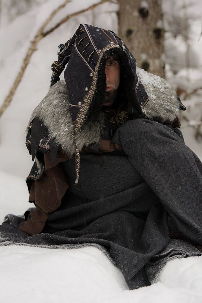 Costume Focus On Foreground Medieval Relaxation Scouttrooper Snow Warrior Winter