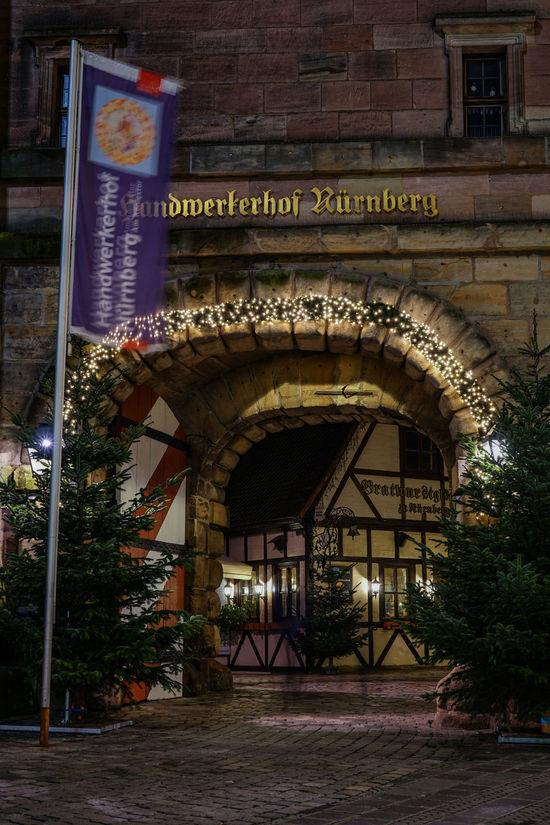Handwerkerhof In Nürnberg Nürnberg Germany Deutschland Architecture Built Structure No People Building Exterior Outdoors