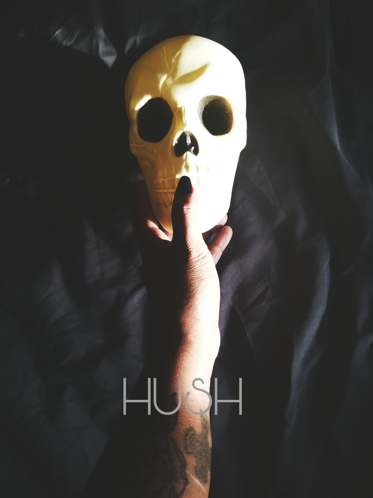 Hush Natural Light Skull Taking Photos Getting Inspired Hands Samsungs7edge Personal Perspective Mobile Photography EyeEm Best Shots
