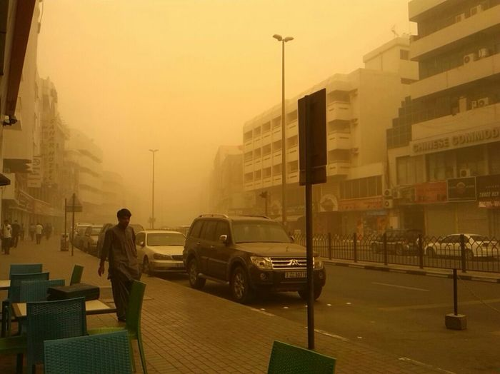 Sandstorm Almostzerovisibility Cityscapes Citylife Foreign