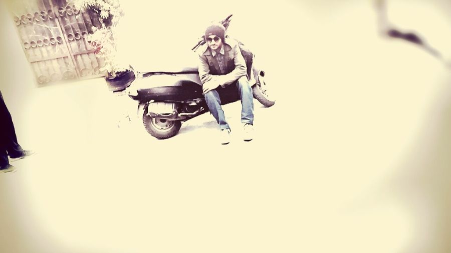 Scooterlife Me At My Bestfriends House Swagger  First Eyeem Photo