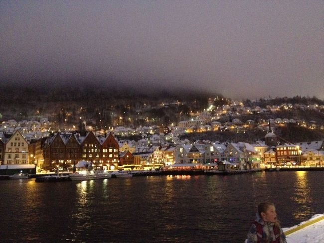 Bergen,Norway Winterwonderland Snow ❄ Snowfall