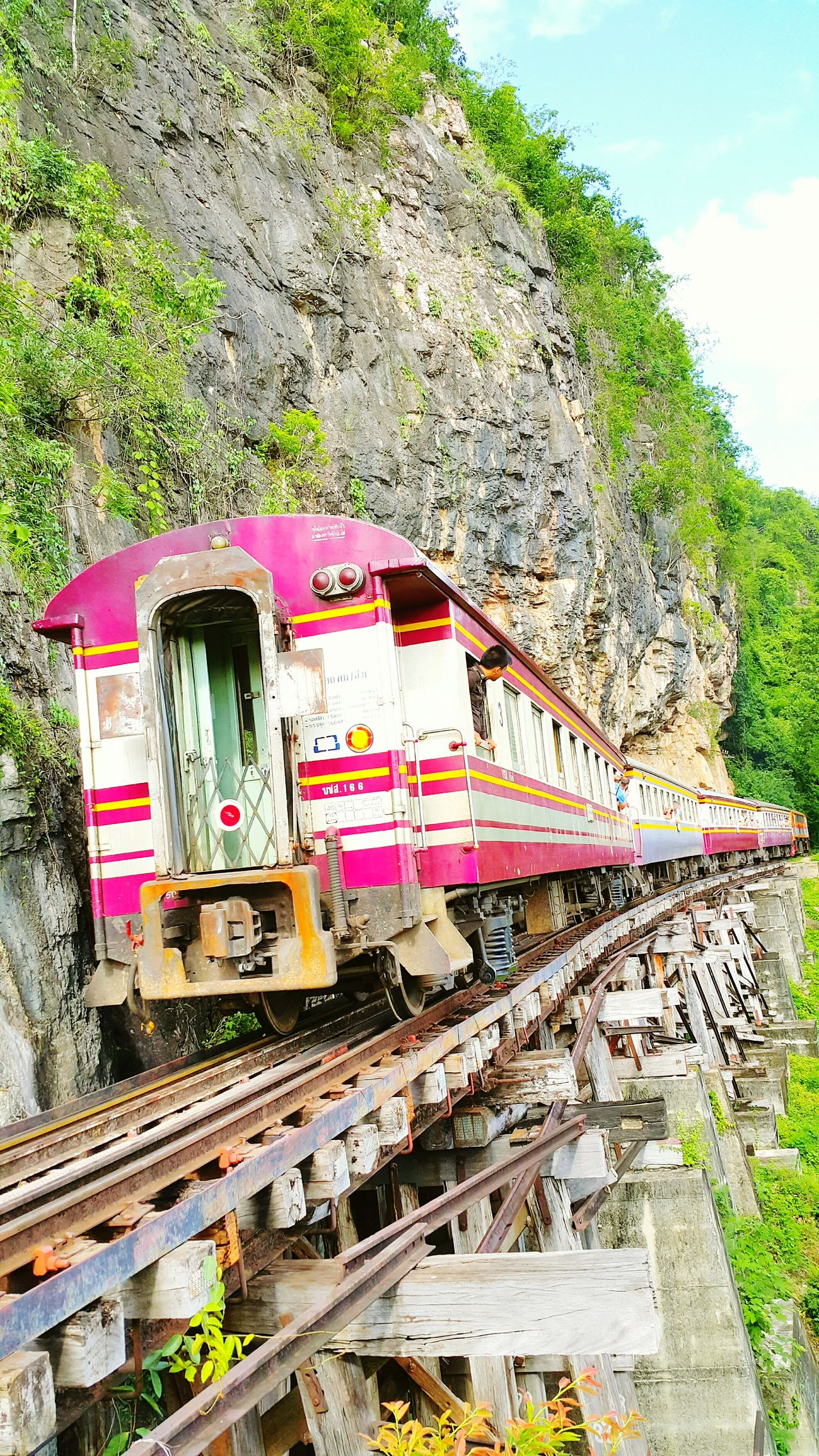 Death Railway Train Trainphotography Train_of_our_world Train Rail Training Day Training Time Kwai Noi The River Kanchanaburi Railroadphotography