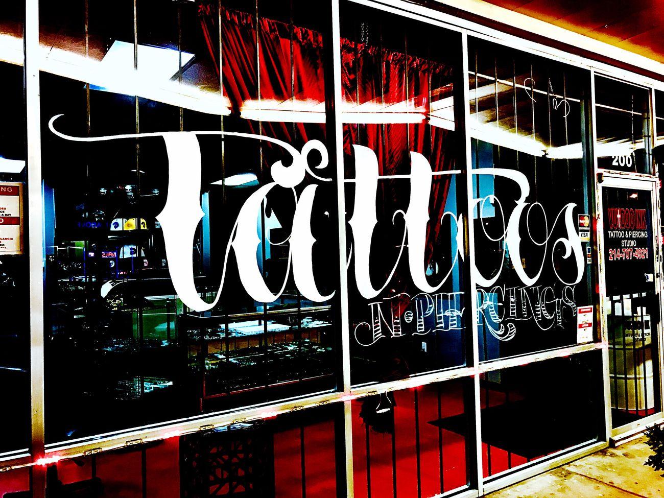 Tattoo shop Text Photography Tattoo
