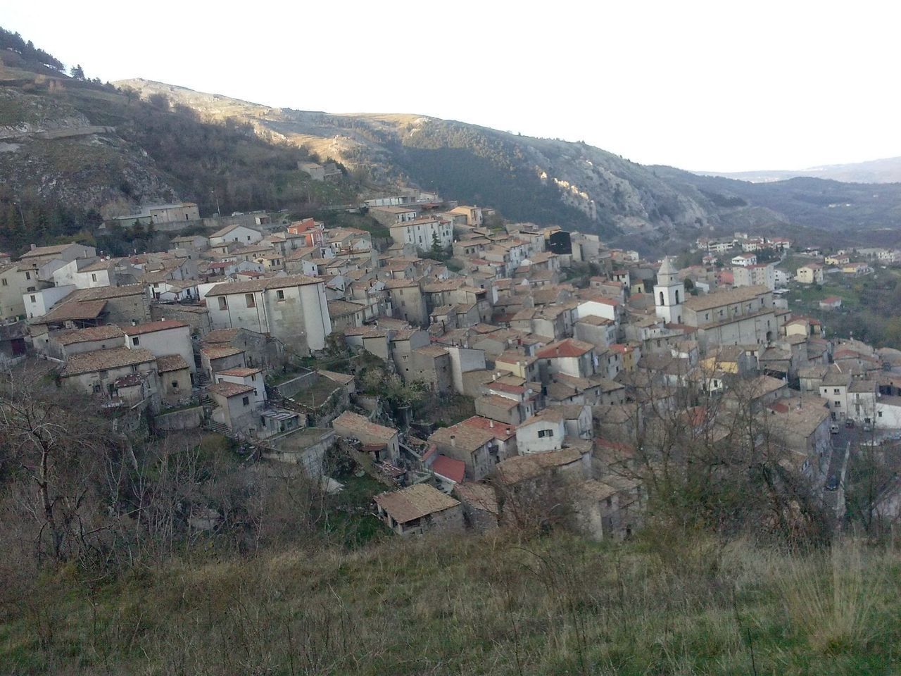 Alto Molise Architecture Building Exterior Built Structure City Cityscape Clear Sky Community Crowded EyeEm Best Shots High Angle View Hill House Landscape Molise Mountain Mountain Range Residential Building Residential District Residential Structure Town TOWNSCAPE Tree