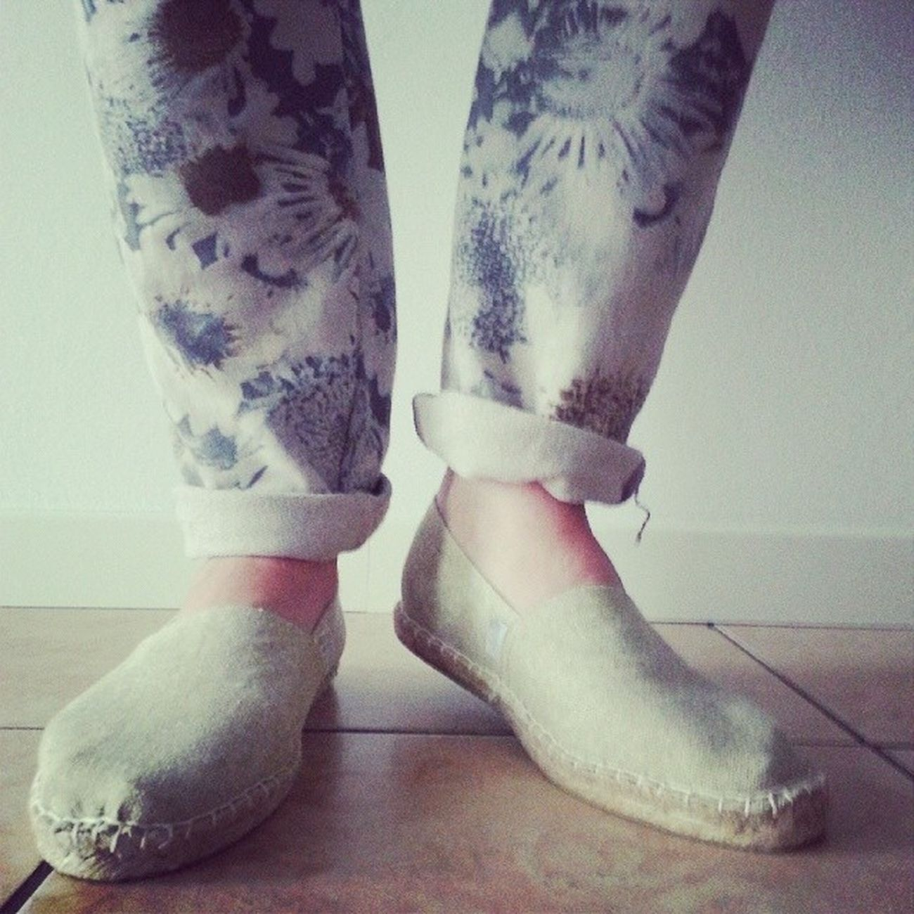 Style Espadrillas Flower Easy confort