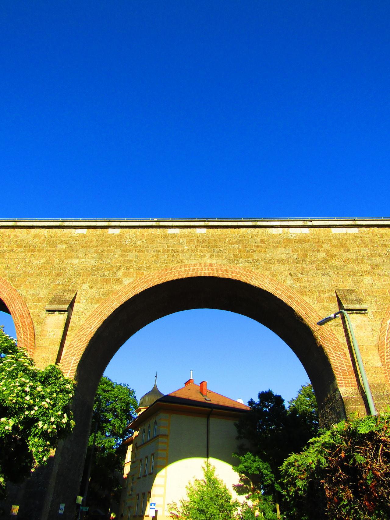 Arch Architecture Low Angle View Viadukt Aquaduct Aquädukt Wien Vienna Austria Liesing Viaduct