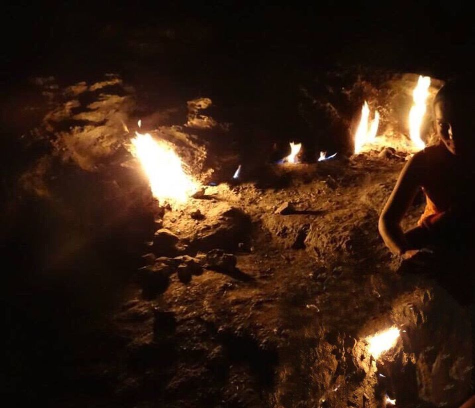 Flame Heat - Temperature Night Fire Rocky Volcano Yanartaş Burning Glowing Turkey Lykia Patara Non-urban Scene EyeEm Gallery Beauty In Nature Fire - Natural Phenomenon Firewood Heat Scenics Photooftheday Eternal On Top Mountain