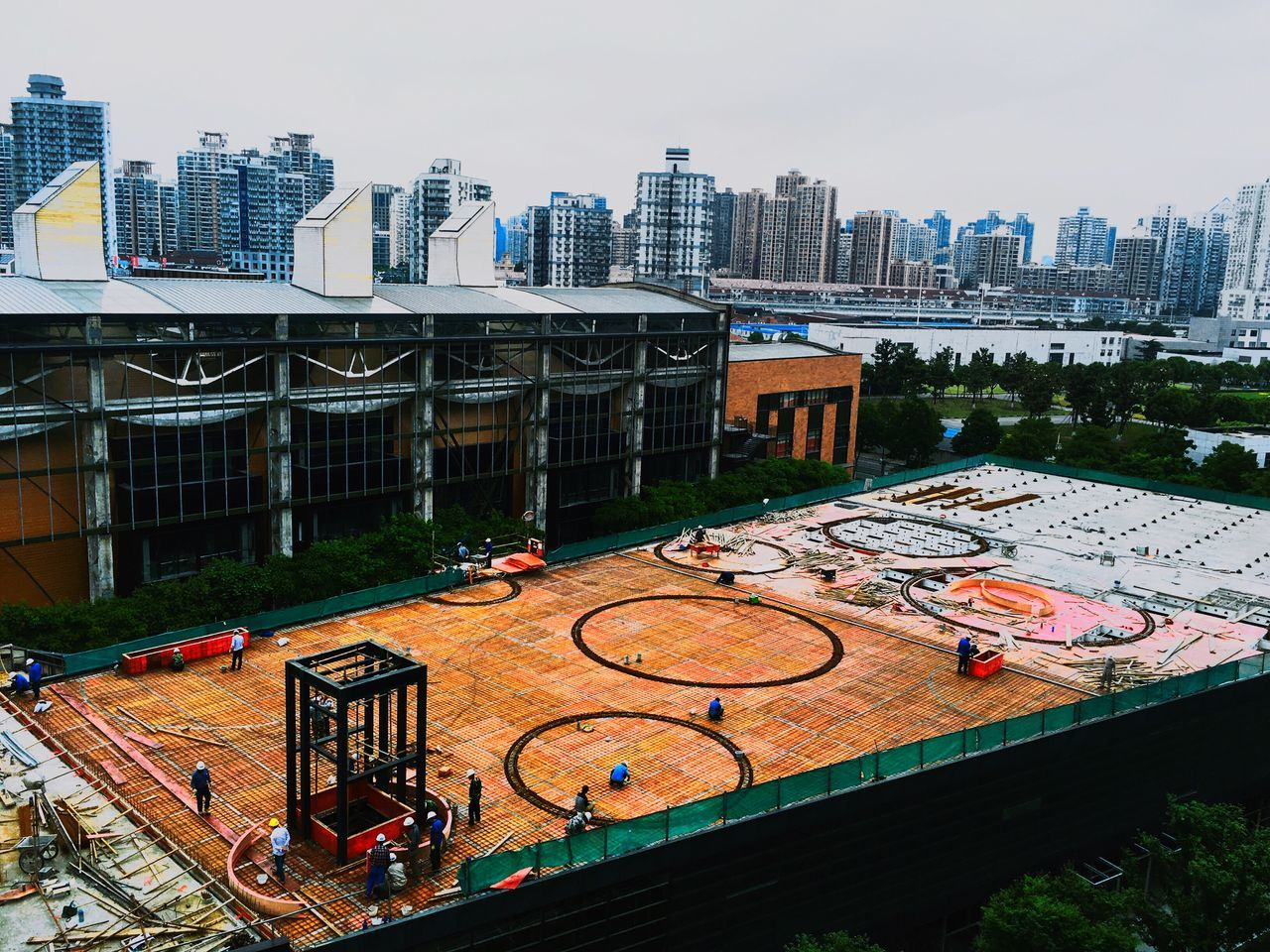 Outdoors Architecture Design Rooftops Circular Workingclasshero Agameoftones TheCreatorClass Discover Shanghai Building Exterior Cityscape Urban Skyline