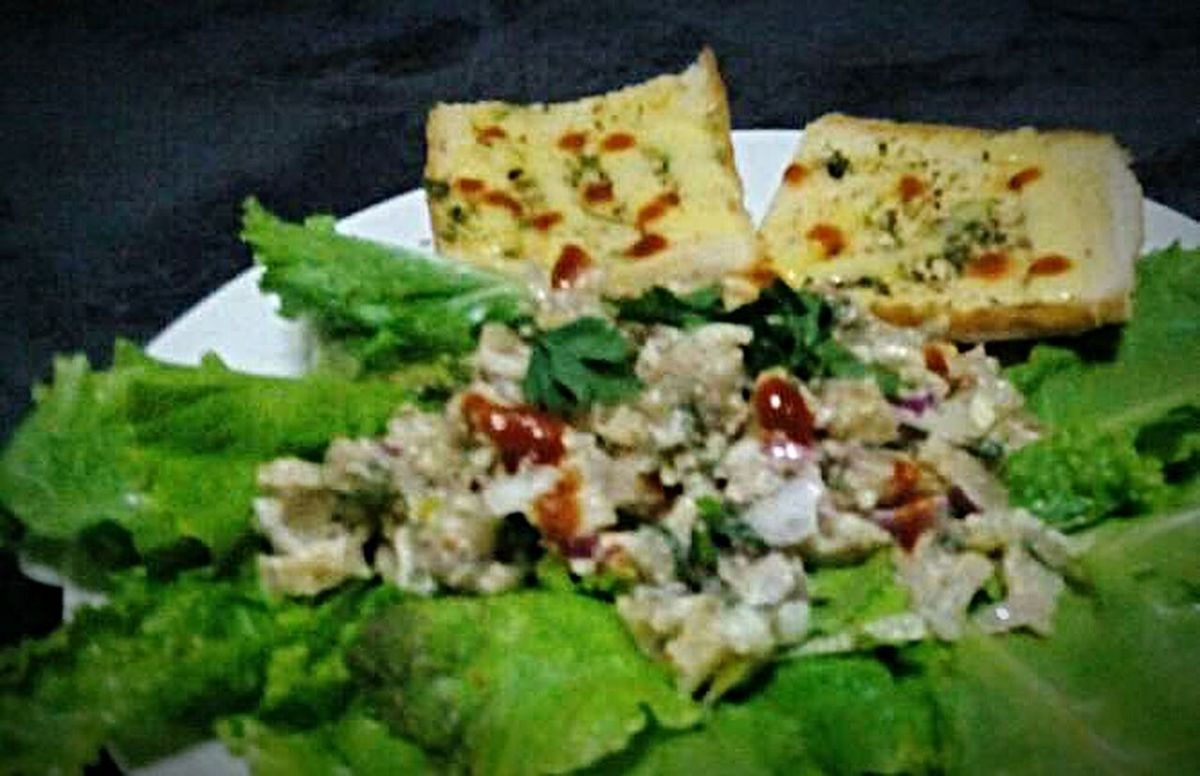 Sisig Filipino Food with Pizzabread Foodgasm