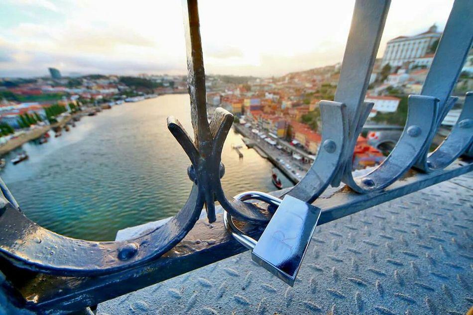 What I Value Locket City Porto Love Passionate Douro  Luiz I Bridge Portugal Mytown