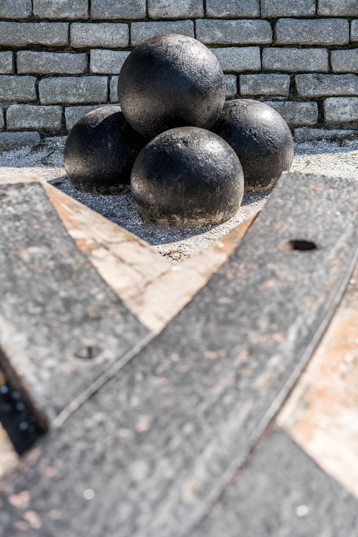 Cannonball No People Outdoors Industrial Fort Sumter Fort Moultrie South Carolina American Civil War Artillery Metalwork Artillery Track industrial Industrial Photography Grey Color Basic Shapes No People Outdoors History Through The Lens  Historycal Place Historical Place Iron And Steel