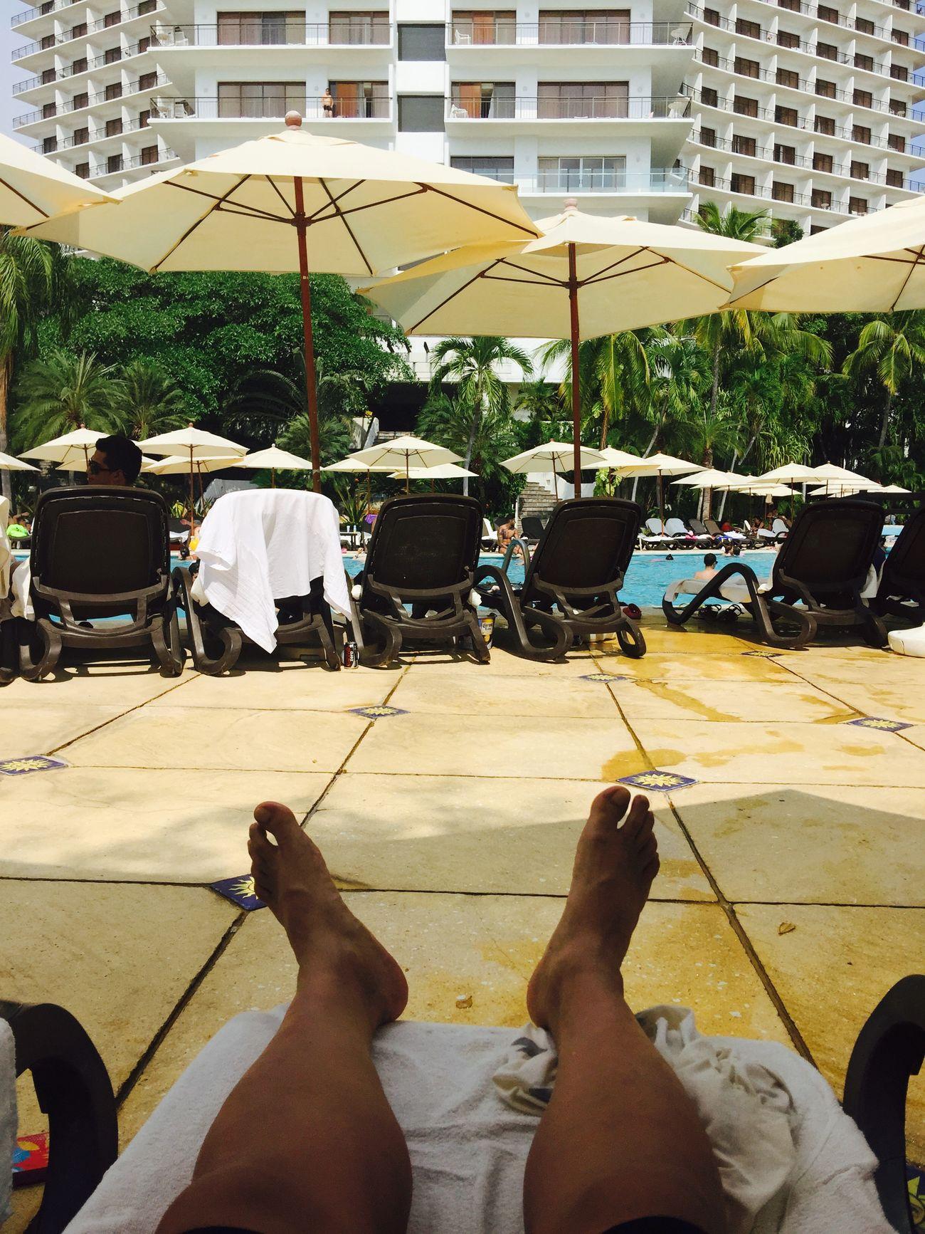 Descansando en Acapulco
