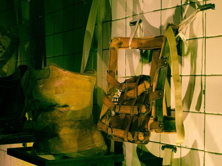 Hanging Indoors  No People Day Close-up Frida Kahlo Handcraft Textured  Canon Rebel T6i Pain Leather Belt  Orthopedics
