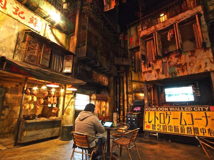 Kowloon Walled City EyeEm Best Shots Eye4photography  Streetphotography Light And Shadow Landscape Architecture Cityscapes On The Road People Night Lights