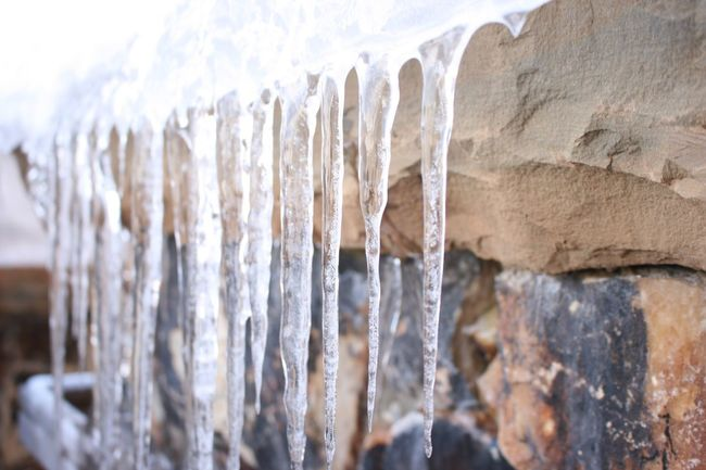 Nature's Diversities Icicles Ice Snow Ski Utah Deer Valley Snowboard Found On The Roll