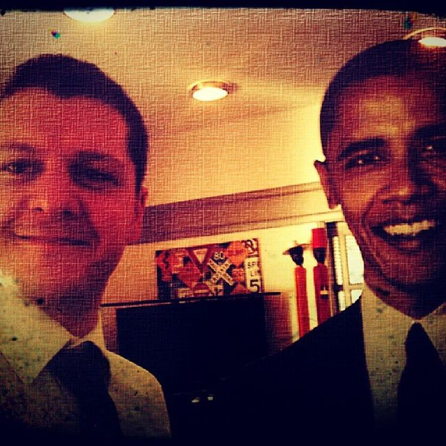 With the one and only President Barack Obama POTUS