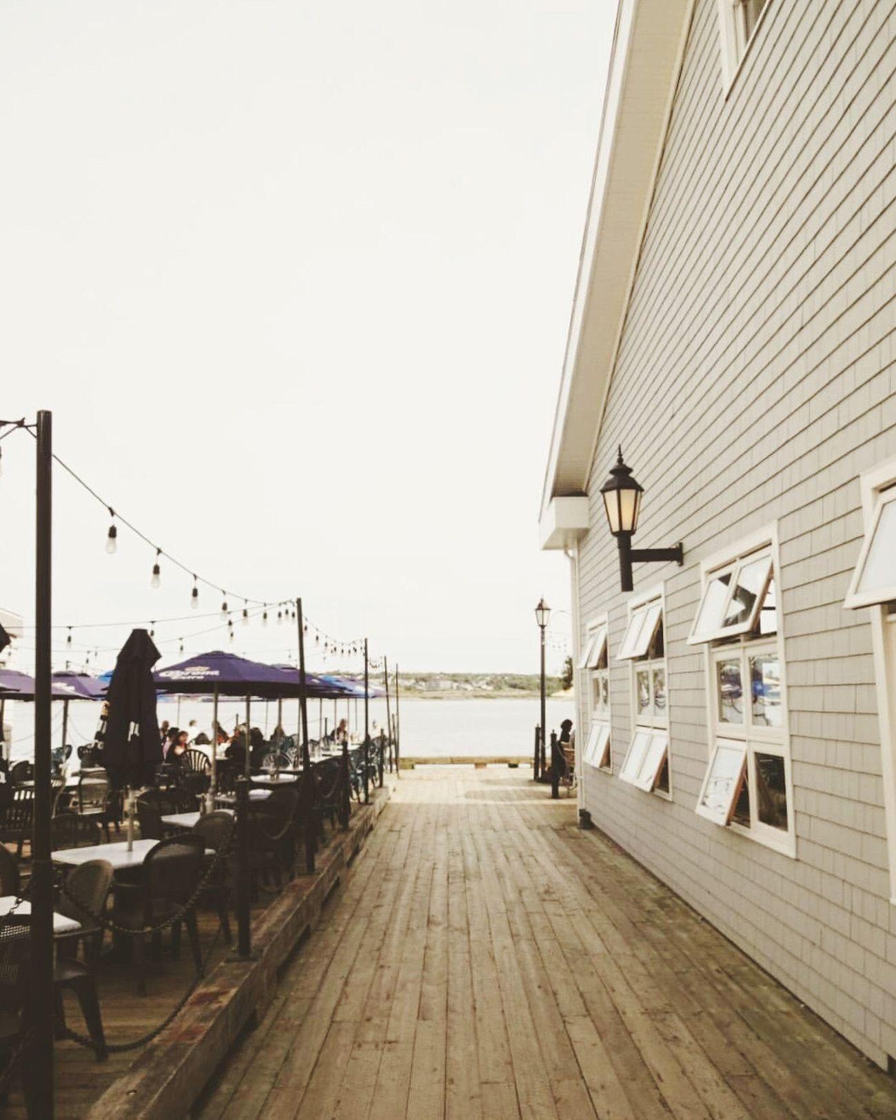 Boardwalk stroll