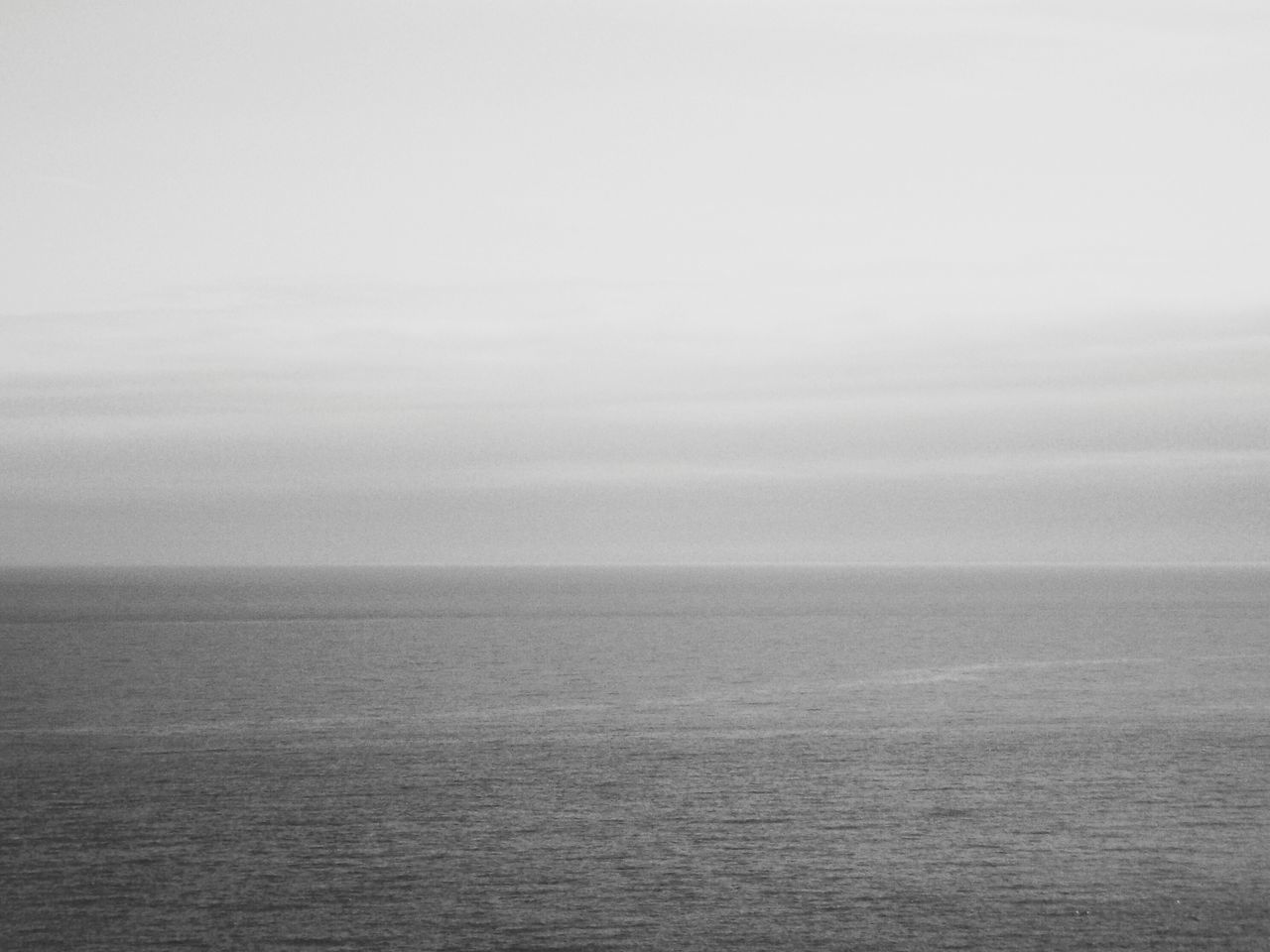Sea Tranquility Sky Horizon Over Water Water Calm Sea Melancholy Thoughts Black And White Horizon Calm Calm Water Reflection Sea View Doubts Worries  Quiet Place  Alone Sea Water Ocean Ocean View